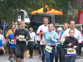 Bettina running - 50% size