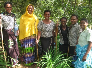 Feb - MEA health workers with Village Africa nurses (Mama Ade and Hilda)