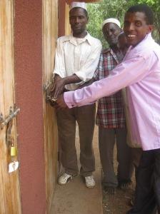 Jan - Handover of Kwembalazi school toilets
