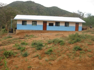 Kweulasi classrooms (front view)