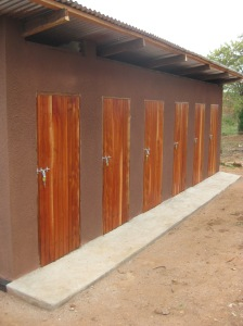 Mkurumuzi Primary School - 6 toilets