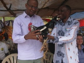 MP at Kweulasi classrooms handover (small size)