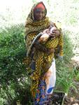 Emerg Veronika Abasi, baby boy called Claudborn in Milidispensary