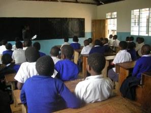 Yamba classrooms - pupils listening