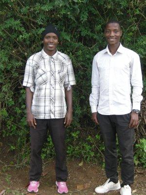 Hamza Saidi and Charles Emmanuel